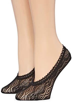 MIXIT Mixit 2pk Lace Liner Socks