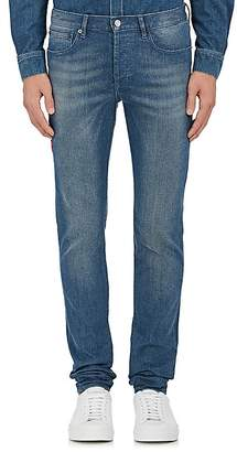 Givenchy Men's Star-Appliquéd Skinny Jeans