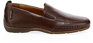 Mephisto Men's Square Toe Leather Loafers