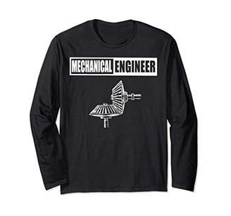 Mechanical Engineer Long Sleeve T Shirt Engineer Gift Gears