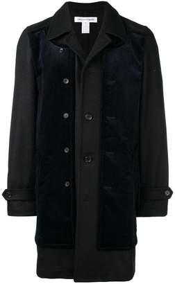 Comme des Garcons corduroy panel coat