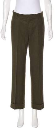 Ralph Lauren Virgin Wool Mid-Rise Pants