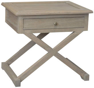Levi's S & G Furniture Oak Wood Side Table