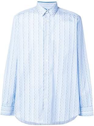Etro long sleeved striped shirt