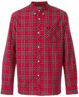 Fred Perry X Art Comes First button down check shirt