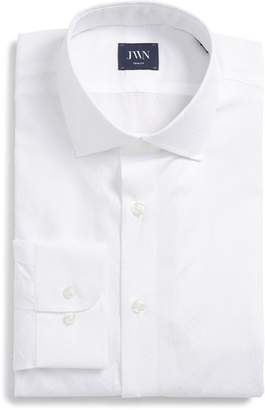 John W. Nordstrom R) Trim Fit Dobby Dot Dress Shirt