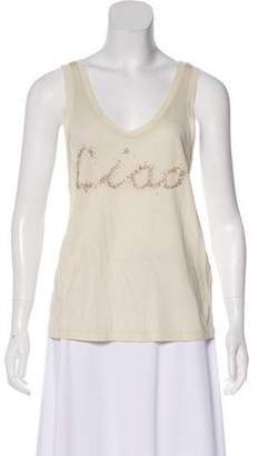 3.1 Phillip Lim Embellished Ciao Sleeveless Top