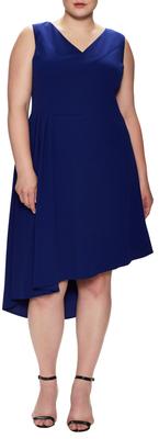 Pleated Asymmetrical Dress $168 thestylecure.com