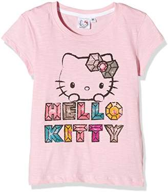 Hello Kitty Girl's Fabulous Plain Short Sleeve Crew Neck T-Shirt,(Manufacturer Size:XX-Large)