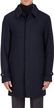 Sealup Men's Tech-Taffeta-Lined Wool Coat