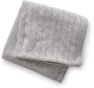 Sofia Cashmere Cashmere Baby Cable Blanket