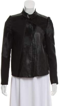 Helmut Lang Leather Biker Jacket Black Leather Biker Jacket