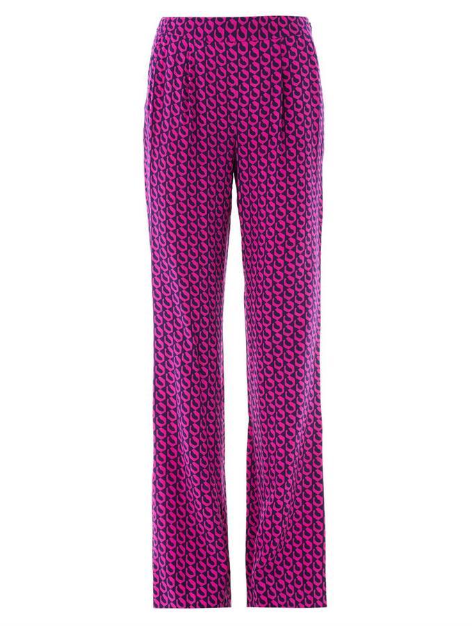 Diane von Furstenberg Petunia trousers