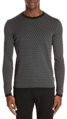 Emporio Armani Crewneck Wool Sweater