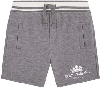 Dolce & Gabbana Classic Logo Sweat Shorts