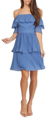Adelyn Rae Roselie Pleated Dress