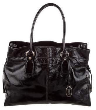 8e06d4cc3 Patent Leather Tote Bag - ShopStyle