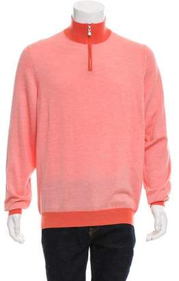 Franck Namani Cashmere & Silk-Blend Sweater