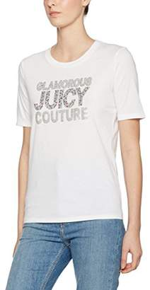 Juicy Couture Black Label Women's Glam Sprinkles Easy Crew Tee