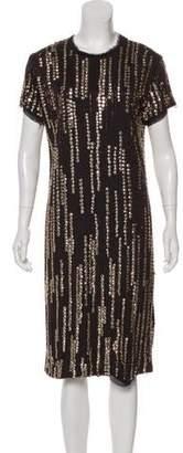 Lanvin Sequin Knee-Length Dress