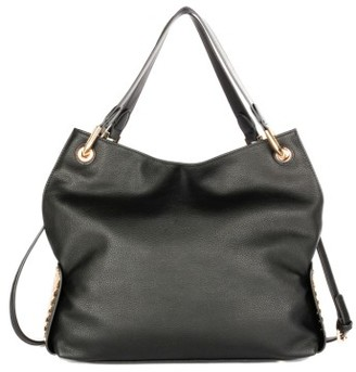 Celine Dion Symphony Faux Leather Hobo - Black $108 thestylecure.com