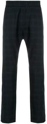 Paul Smith tartan straight-leg trousers
