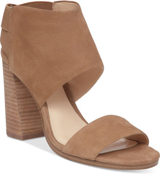 Vince Camuto Keisha Strappy Block-Heel Sandals $129 thestylecure.com