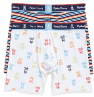 Men's Psycho Bunny 2-Pack Boxer Briefs $39.50 thestylecure.com
