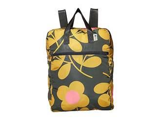 Orla Kiely Stem Spring Print Packaway Backpack