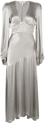 Shona Joy deep V-neck dress