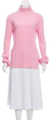 Celine Cashmere Rib Knit Sweater
