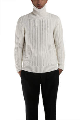 Simon Spurr Cable Turtleneck