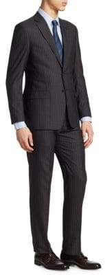 Giorgio Armani Striped Wool Suit