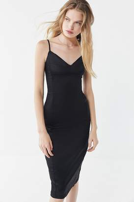 Urban Outfitters Satin Midi Slip Dress