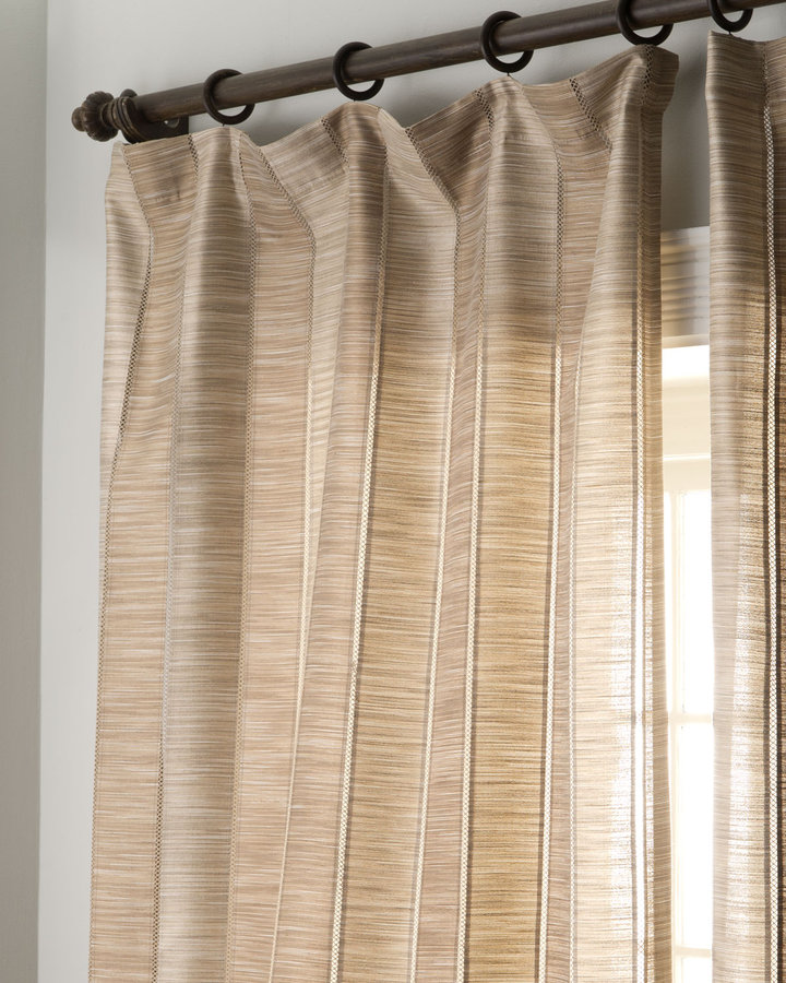 "Softline Home Fashions ""Harlequin Stripe"" Curtains"