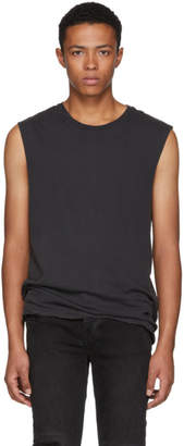 Ksubi Black Sioux Muscle Tank Top