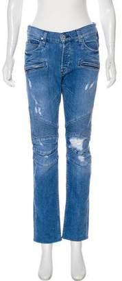 Hudson The Blinder Biker Mid-Rise Jeans