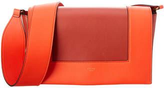 Celine Medium Frame Leather Shoulder Bag