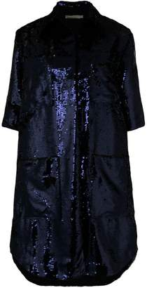 Amen 3/4 sleeves sequin coat