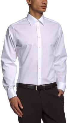 Seidensticker Men's Dress Shirt Formal Shirt Business Shirt Tailored Fit Long Sleeve Collar Kent Non-Iron Envelope Cuffs