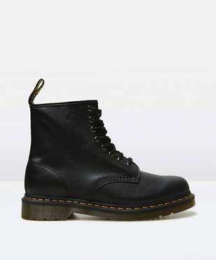 Dr. Martens 1460 8 Eye Black Nappa Boots