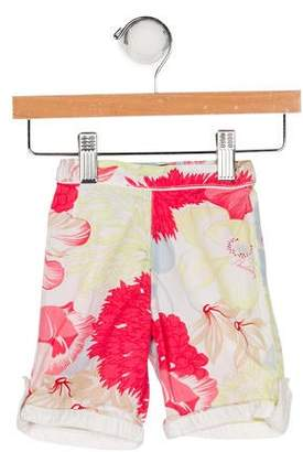 Burberry Girls' Floral Print Pants