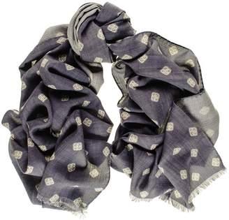 Black Bernini Reversible Wool and Silk Scarf