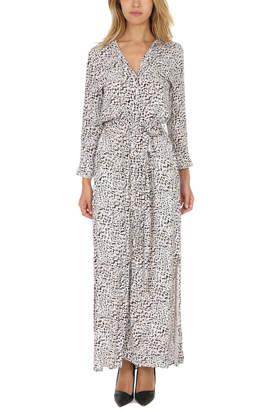 L'Agence Alani Long Shirt Dress