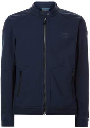 Hackett Soft Shell Moto Jacket