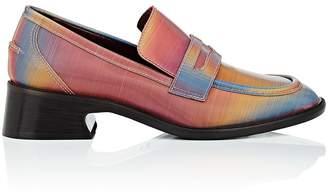 Sies Marjan Women's Adele Lenticular Fabric Penny Loafers