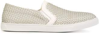 Moncler punch hole sneakers