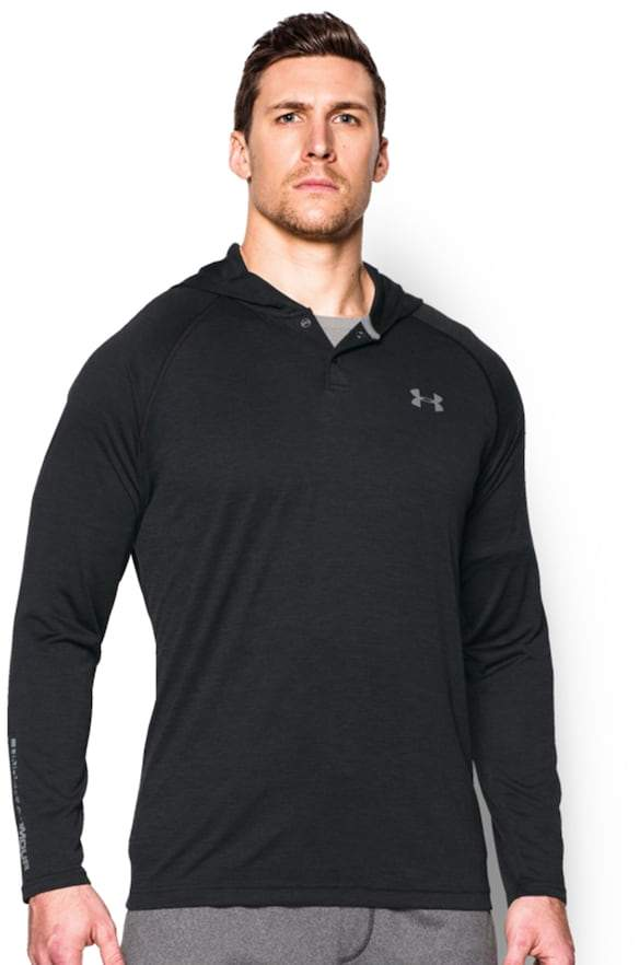 Under Armour Men's Under Armour Tech Popover Henley Hoodie