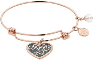 "Love This Life love this life ""I Love You Sis"" Bangle Bracelet"