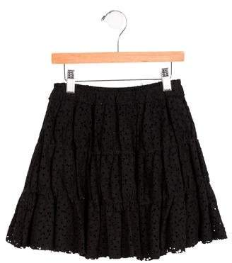 Lanvin Petite Girls' Lace Circle Skirt w/ Tags
